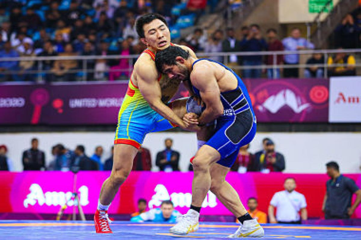 India wins one silver, two bronze medals in Asian Wrestling Championships