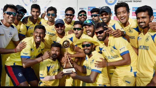 Tamil Nadu wins Vijay Hazare Trophy
