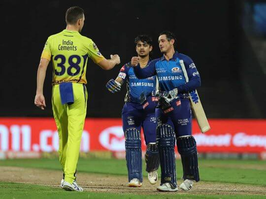 IPL 2020: Mumbai Indians registers a 10-wicket victory against Chennai Super Kings