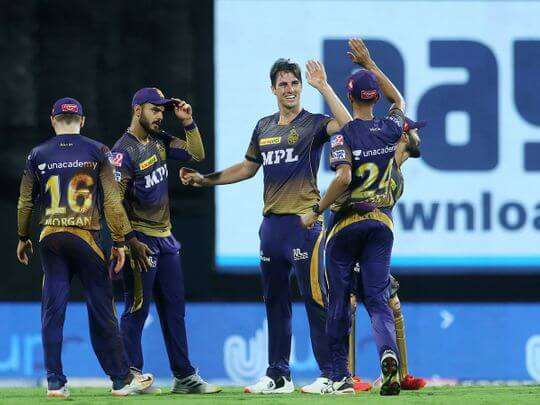 IPL 2021: Kolkata Knight Riders registers a 10-run win over Sunrisers Hyderabad