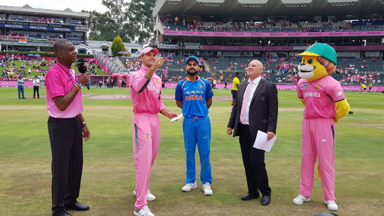 4th ODI , India vs SA : Virat Kohli wins toss,opts to bat