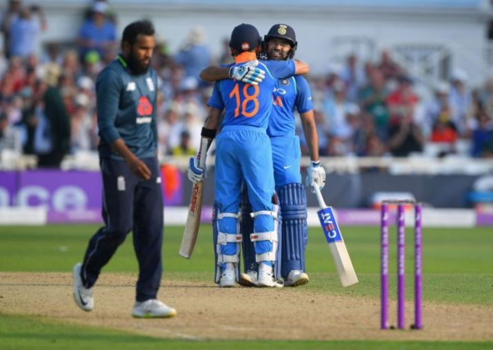 India beat England by 8 wickets in 1st ODI at Nottingham