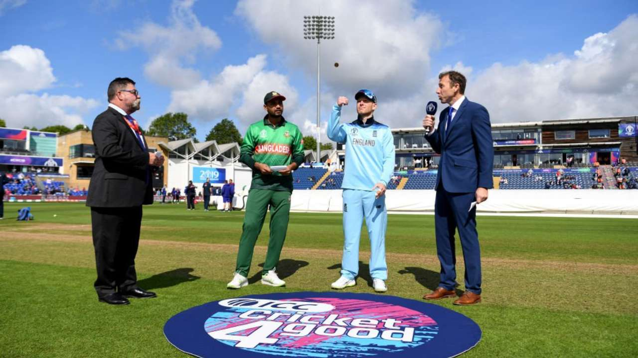 ICC World Cup: Bangladesh win toss, choose to field against West Indies