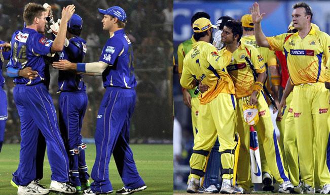 Chennai Super Kings, Rajasthan Royals back in IPL fold after serving 2-year ban