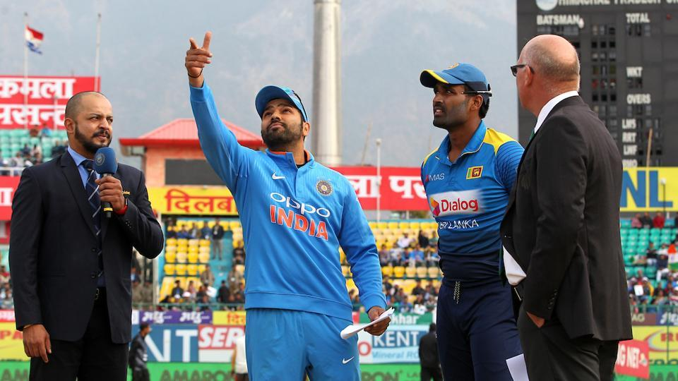 Sri Lanka win toss, elect to bowl against India in 2nd ODI at Mohali