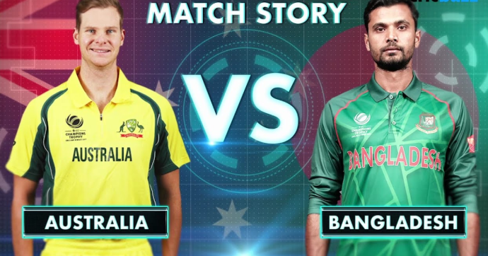 Australia to take on Bangladesh today in iCC World Cup