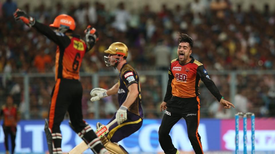 Sunrisers Hyderabad enter the final of IPL 2018