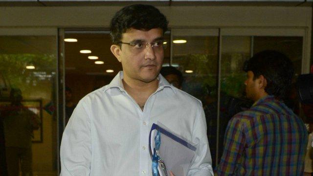 Sourav Ganguly, Rajeev Shukla in BCCI