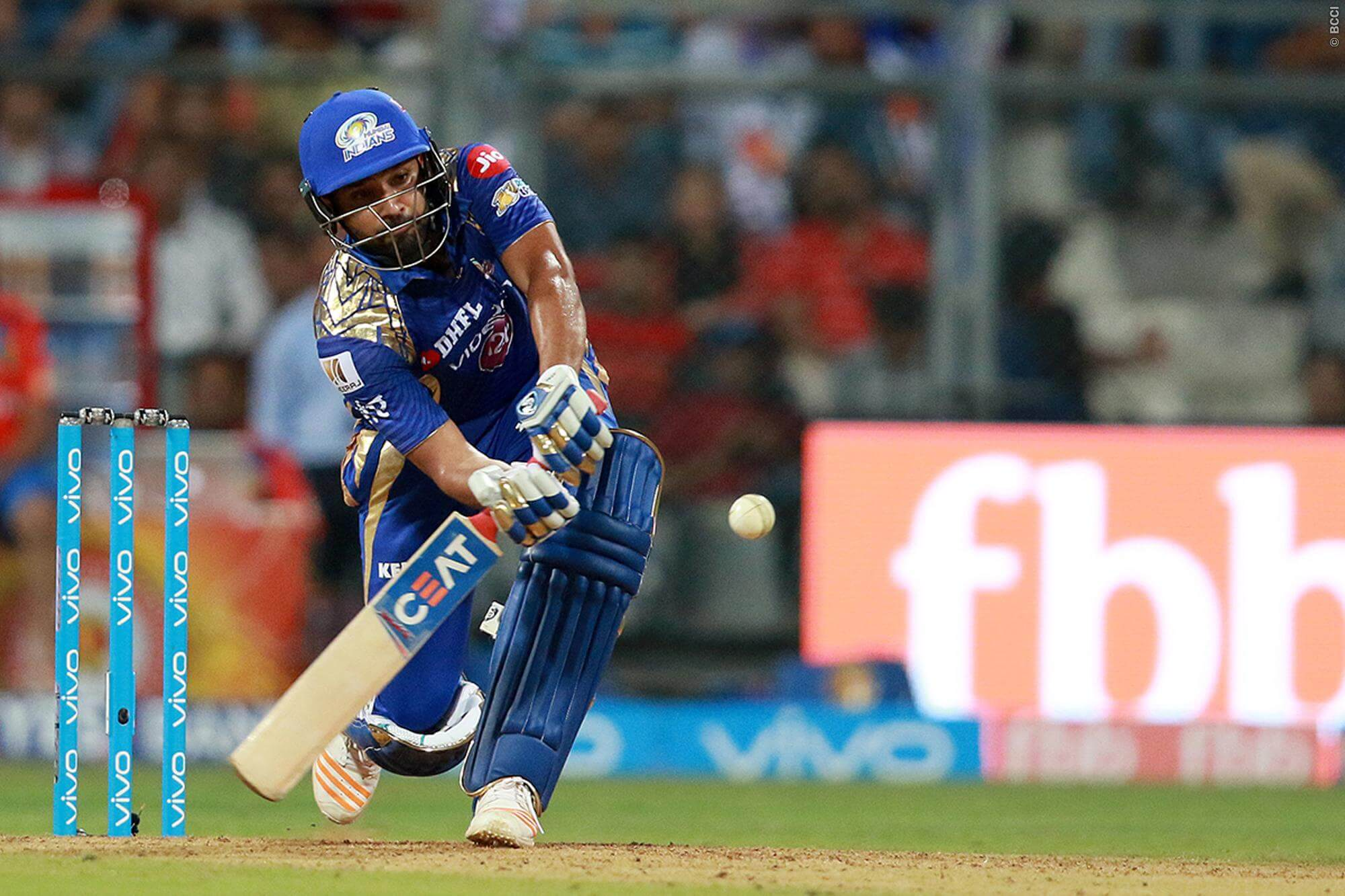 IPL 2020 Updates: Rohit Sharma out for 80 as Mumbai Indians eye big finish