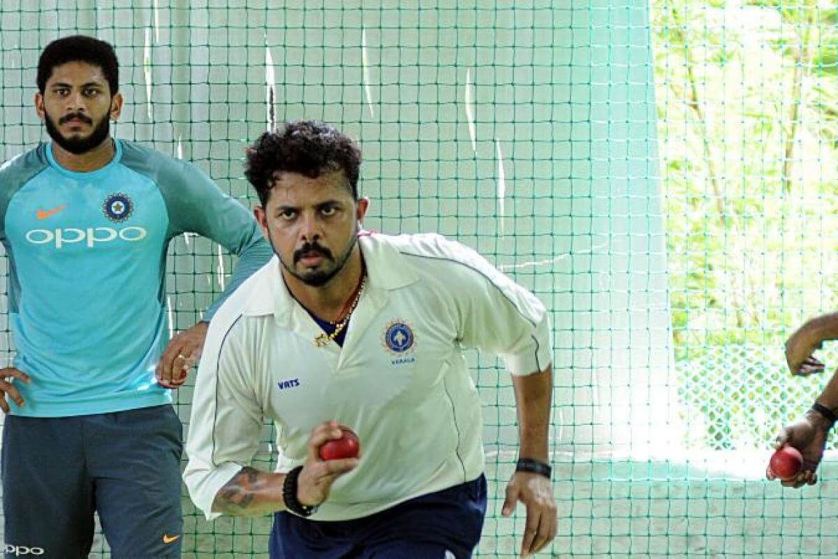 After seven years of ban, S Sreesanth set to play in KCA President