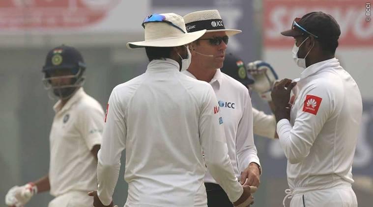 India vs Sri Lanka, 3rd Test, Feroz Shah Kotla, Day 2: IND 523/7, Kohli out for 243