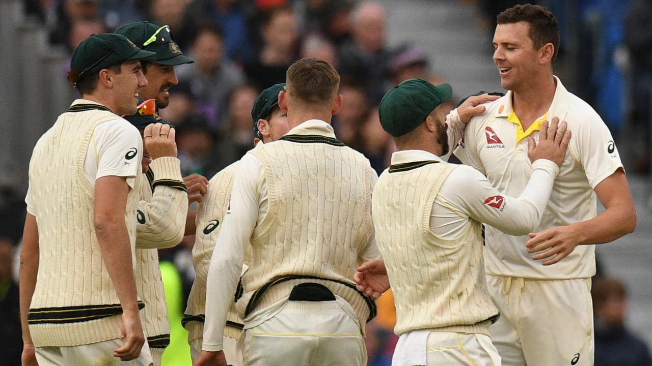 Hazlewood gives Aussies the edge