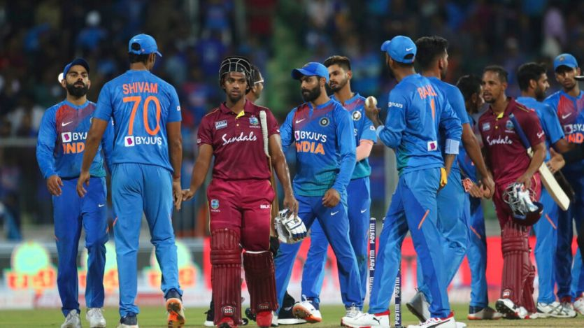 India beat West Indies by 67 runs in 3rd T20 match in Mumbai; win series