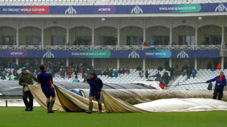 World Cup 2019: India, New Zealand share points as rain ruins Nottingham game