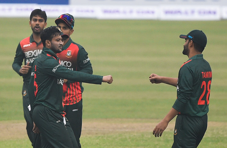 Shakib Al Hasan stars as Bangladesh win the 1st ODI with 6 wickets against West Indies