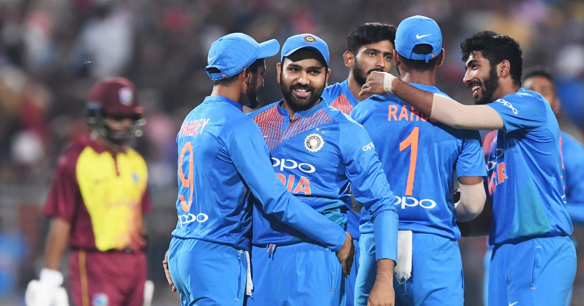 India beat West Indies by five wickets in first T20 International match in Kolkata