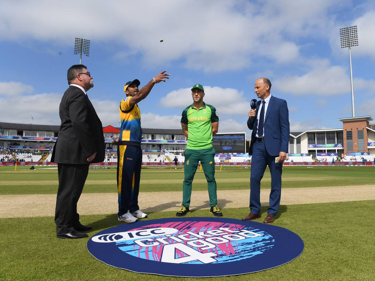 ICC World Cup: South Africa win toss, elect to field against Sri Lanka