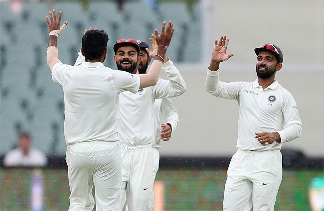 Adelaide Test: India bundle out Australia for 235 runs in first innings