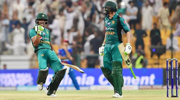 Asia Cup: Pakistan beat Afghanistan by three wickets at Abu Dhabi