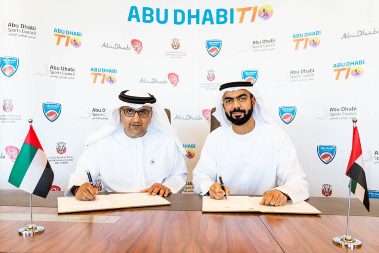 Deal signed to host T10 league for five years in Abu Dhabi