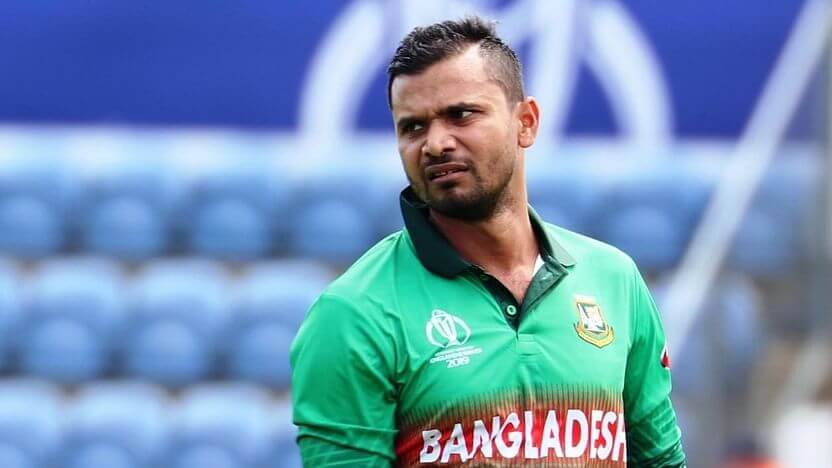 Mashrafe Mortaza detects positive for Covid-19 twice in span of 15 days