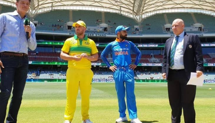Australia win the toss and elected to field against India