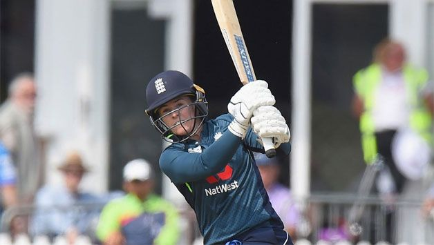 England score 160 for four in first women