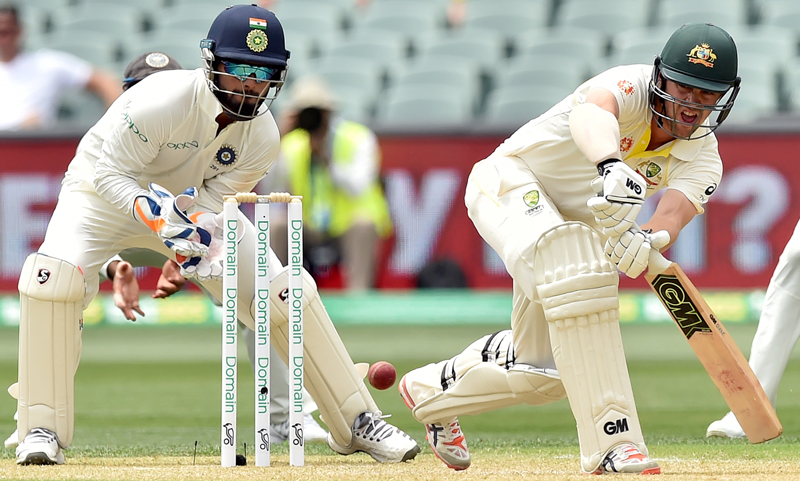 Australia need 136 runs to win against India