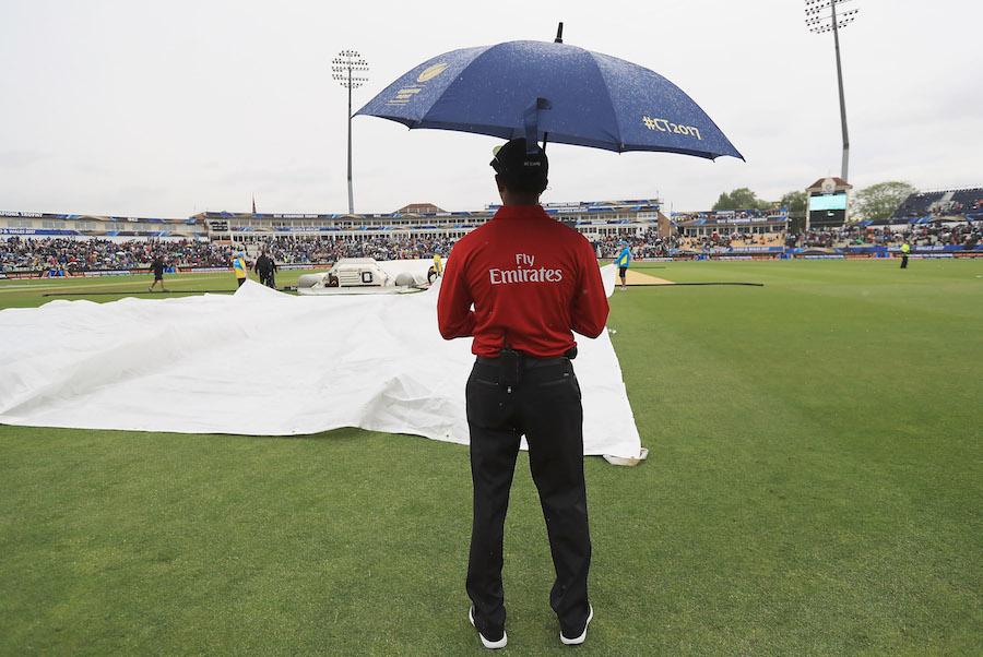 ICC Champions Trophy 2017: Aus vs NZ: Match tie, abandoned due to rain; Williamson