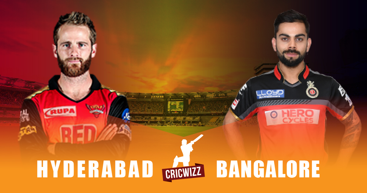 Sunrisers eye Play-off berth in clash against RCB