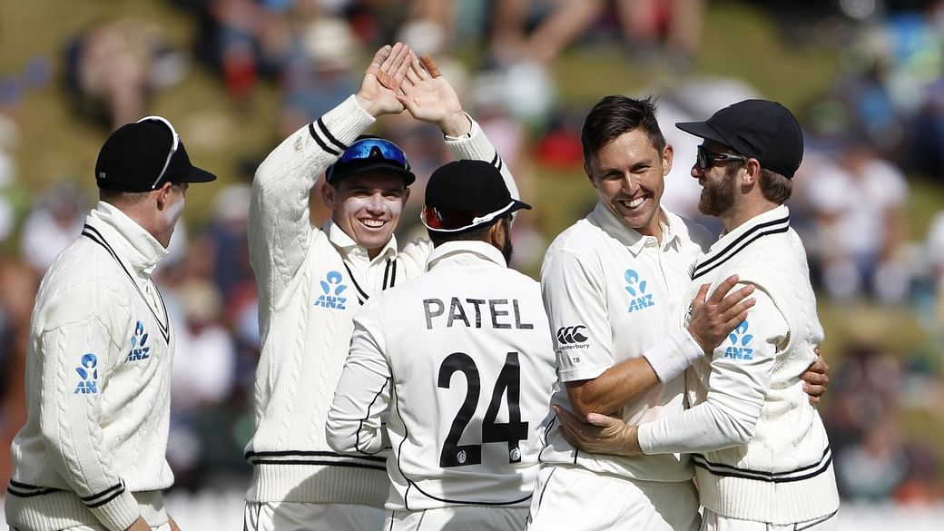 New Zealand defeat India by 10 wickets in the first Test match in Wellington