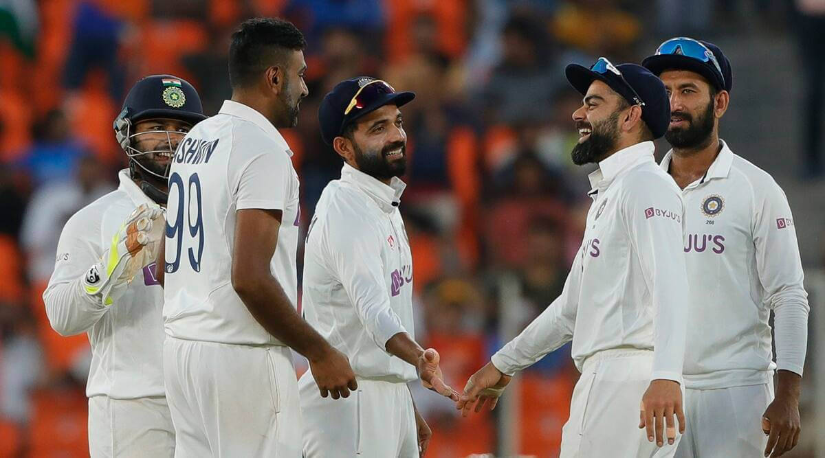 India beat England by 10 wickets inside 2 days in Pink-ball Test