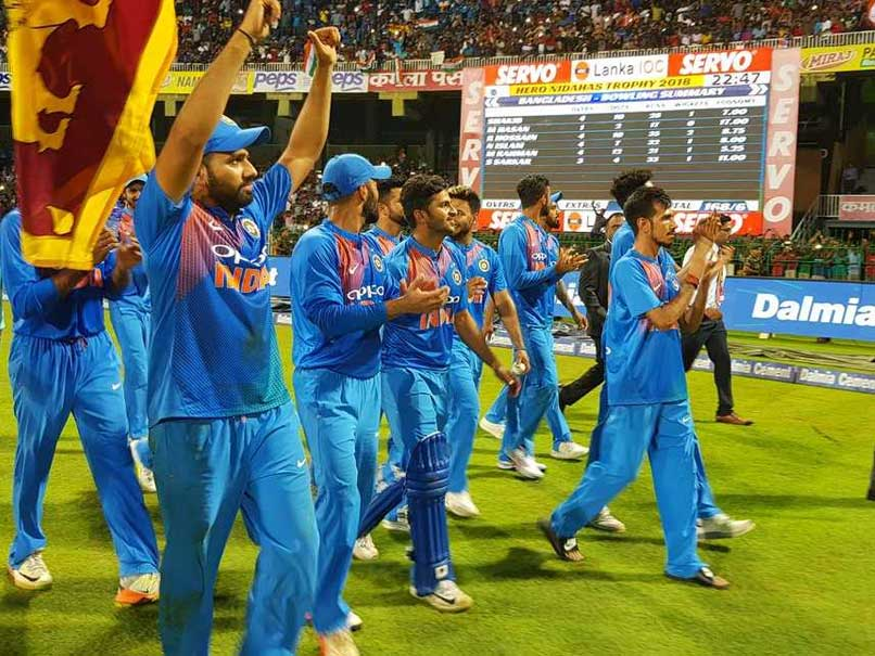 Colombo : Rohit Sharma performs victory lap of honour with Sri Lankan flag, earns respect from local fans