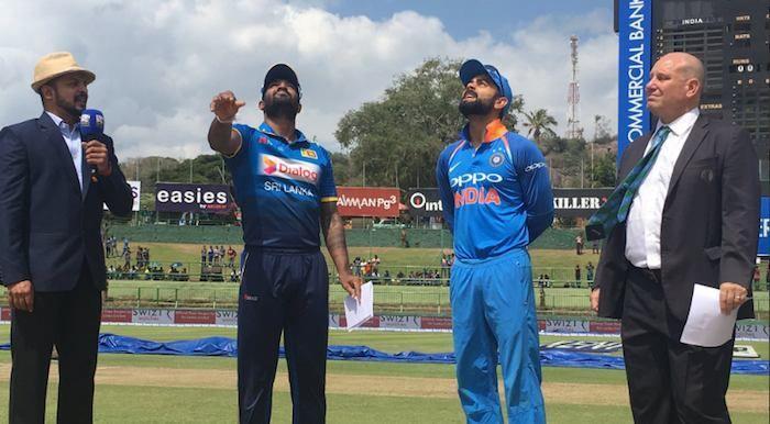 Sri Lanka win toss, opt to bat against India