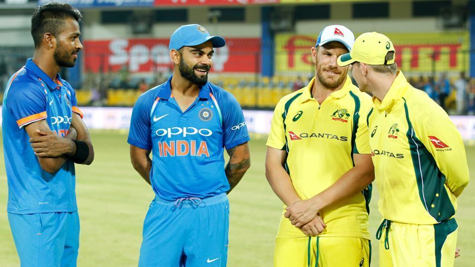 Australia elect to bat in fourth ODI against India