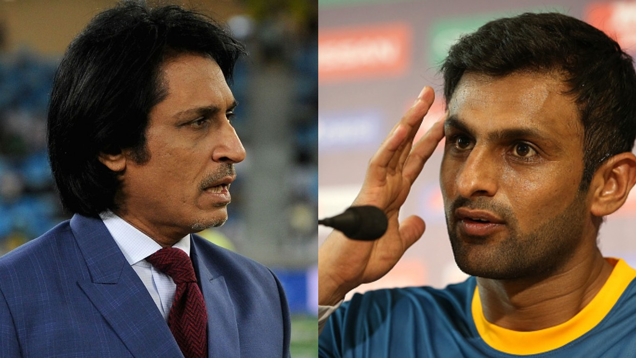 Shoaib Malik lashes out back to Ramiz Raja over retirement remark
