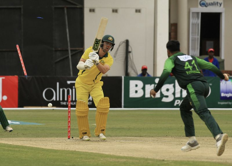 Pakistan beat Australia by 45 runs in the T20 series in Zimbabwe