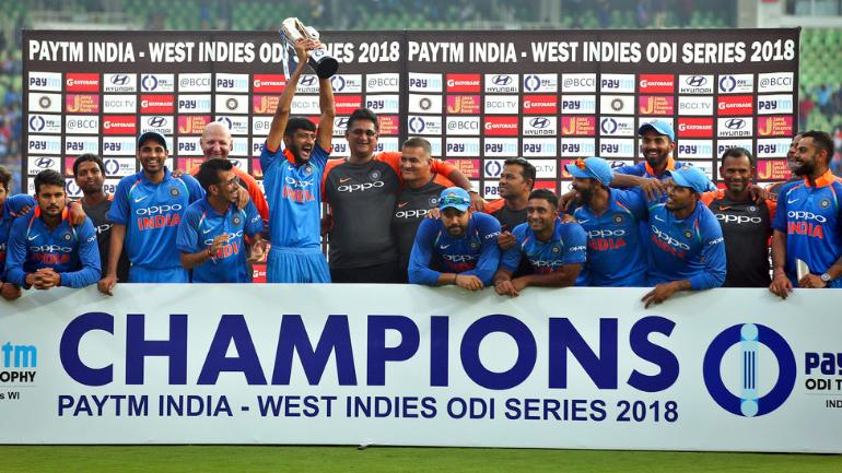 India clinch easy win against West Indies in 5th ODI match, seal series