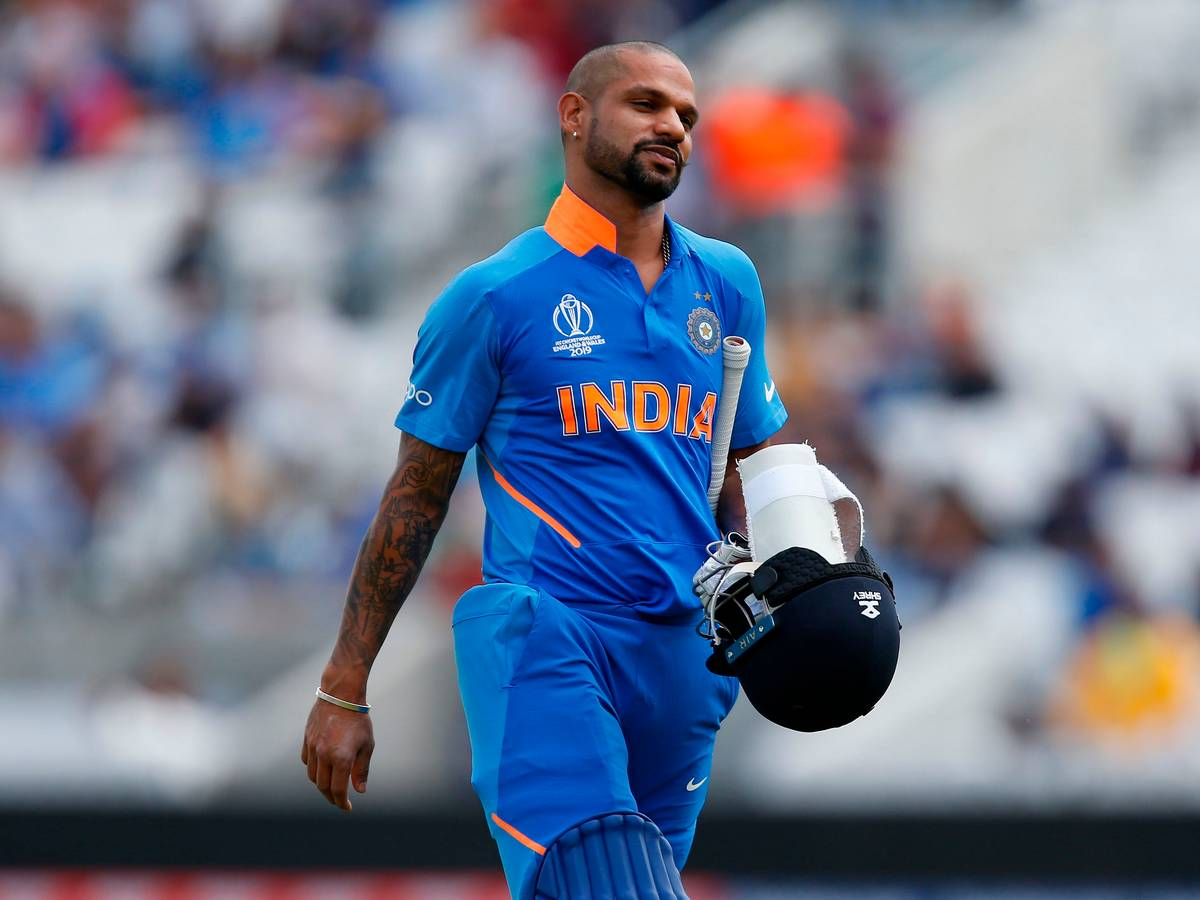 Shikhar Dhawan ruled out of World Cup with fractured thumb