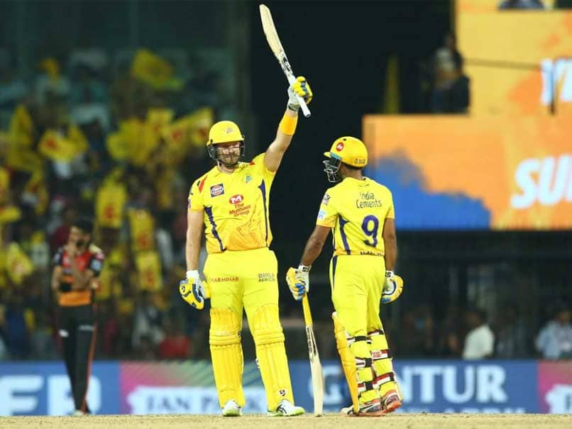 Chennai Super Kings beat Sunrisers Hyderabad by six wickets in IPL match