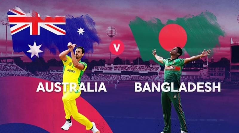 Australia elects to bat against Bangladesh in World Cup
