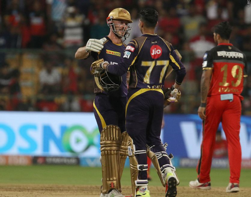 KKR beat RCB by six wickets at Bengaluru