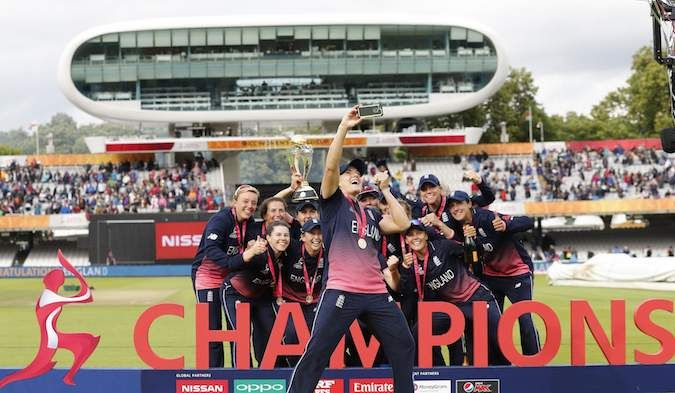 England beat India in Women