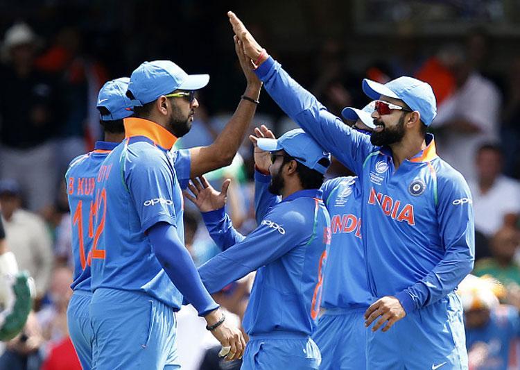 ICC Champions Trophy : India vs Ban semifinal 2017: India keep Bangladesh to 264