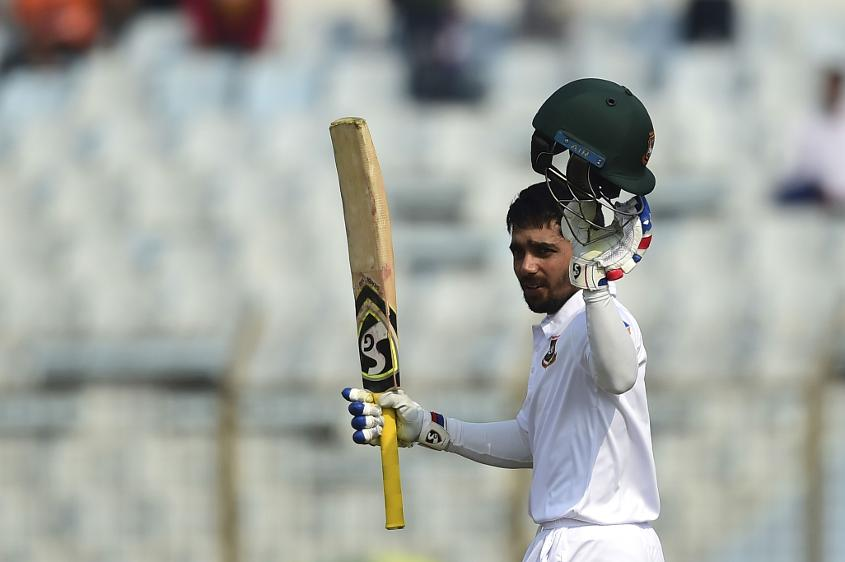Mominul Haque hits unbeaten 175 as Bangladesh reach 374/4 at stump