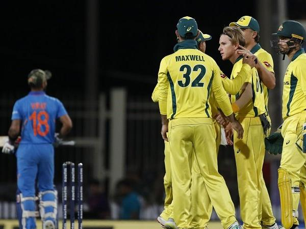 Australia defeat India by 32 runs in 3rd ODI at Ranchi