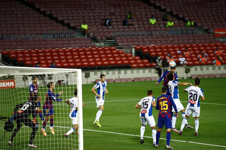 Barcelona win 1-0 victory over derby rivals Espanyol in La Liga
