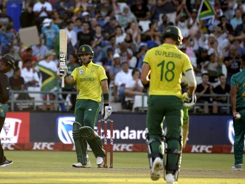 South Africa win first T20 against Pakistan