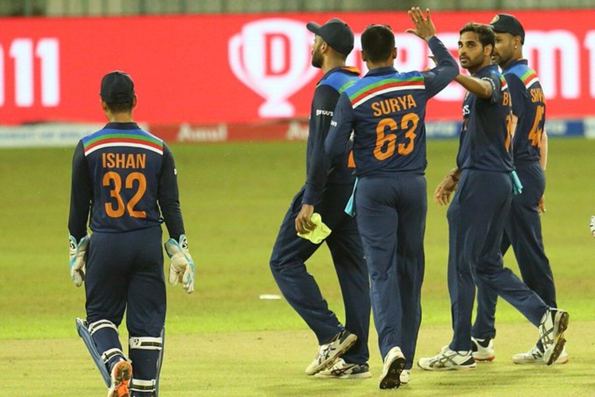 India beat Sri Lanka by 38 runs in first T20I