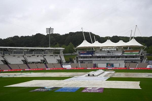 ICC - WTC 2021 , India vs New Zealand , Final Live Cricket Day-4